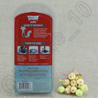 Wholesale 50PCS LJJH1196 DrainWig Shower Pack Drain Wig Cleaner Catches Hair Prevents Bathroom Clogs Hygienic Bathroom Kitchen Sink for family