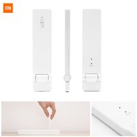 Wholesale Xiaomi WiFi Amplifier Portable Wireless Repeater Network Wi fi Router Expander Antenna Signal Range Extender Expansion Booster