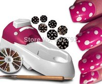 Wholesale Free DHL Shipping pcslot New Fashion Hollywood in One Nail Art System Every Time Nail Art Equipment