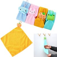 adult wipes - Lovely Cartoon Hanging Chads Hand Towel Kitchen Microfiber Cleaning Wipes Towel FZ1176