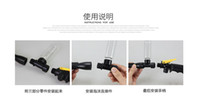 Wholesale Multifunctional Car Wash Brush With Long Handle Switch Water Flow Foam Gun Car Cleaning Brush