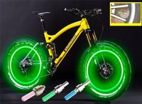 bicycle side car - Led Flash Tyre Wheel Valve Cap Double side Bike Cycling Bicycle Fashion Motorcycle Car Tyre Tire Wheel Valve LED Flash Light Letter Change