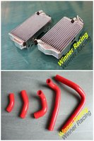 Wholesale L R Aluminum Radiator Silicone HOSE Fit For Honda CR R CR250 Stroke