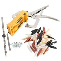 Wholesale High Quality Stainless Steel Hole Drill Guide Jig Set Kit Wood Woodworking Tool Price