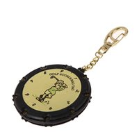 Wholesale Golf Stroke Shot Putt Score Counter Keeper Scoring Tag Keychain Hole Area DHL EMS K5BO