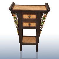 all'ingrosso console table-Sud-est asiatico di stile tavolo console in legno decorato Vetrina Thai artigianato thailandesi ornamenti retro dell'altare