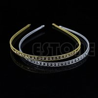 Wholesale L109Fashion Metal Crystal Headband Head Piece Hair Band Jewelry for Women Girl Lady