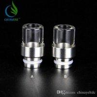 Dirp Tip best news - Best news pyrex glass Drip Tips SS drip tip mouthpiece wide bore chuff dirp tips