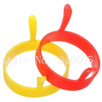 Wholesale Silicone Fry Oven Poacher Pancake E gg Poach Ring Shaper Mould Home Kitchen Cooking Tool