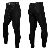 Wholesale Men s sports tights Render of basketball training pants Spring sports pants Running fitness pants compression pants