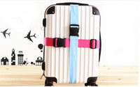 Wholesale 100PCS High Quality Adjustable Combination Luggage Packing Belt Suitcase Strap Baggage Backpack Bag Strap By