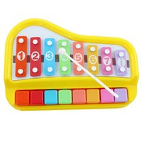 Wholesale Cents for joy small xylophone hand knocking piano octave music toys infant toys baby gifts