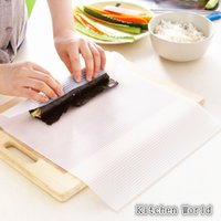 Wholesale Pieces Sushi Mold Mat Japanese Food Sushi Rolling Roller Silicone Material Rice Rolling Maker Washable Reusable Sushi Rolls