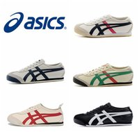 athletics leather lights - New Style Asics Tiger Running Shoes For Women Men Comfortable Leather Zapatillas Athletic Outdoor Sport Sneakers Eur
