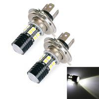 backup bulb - Car Light Source H4 Cree Q5 SMD5050 LED Car Head Light Bulb White Lamp Hooligan backup light DC V V