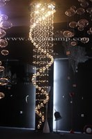 Wholesale promotional crystal chandelier lighting crystal drops for chandeliers ODF9526 Dia50cm H200cm