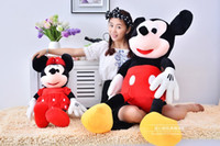 Wholesale NEW Plush cm Mini Lovely Mickey Mouse And Minnie Mouse Stuffed Animals Plush Toys For Children s Gift