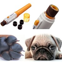 Wholesale Pet Dog Cat Nail Trimmer Tool Grooming Tool Care Grinder Clipper Electric Kit