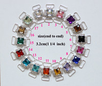 Quilt Accessories accessories for swimming - colors Rhinestone Connector For Swimming Wear Bikini Buckle Shoe Buckle BKYM01030