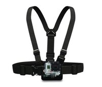 Wholesale GoPro Accessories Harness Adjustable Elastic Shoulder Chest Strap for GoPro Hero SJ4000 SJ5000 Xiaomi yi Sport Camera