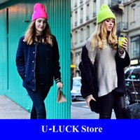 basic beanie - Hot Winter Basic Candy Color Vogue Skullies Beanies Hats For Men And Women Gorros Mujer De Lana Toucas De Inverno Bonnet Femme