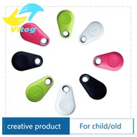 Wholesale anti lost alarm Smart Tag Wireless Bluetooth Tracker Child Bag Wallet Key Finder GPS Locator itag anti lost alarm