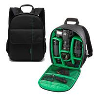 Wholesale New Upgrade Photography Digital DSLR Camera Bag Waterproof Camara Case Mochila Small Compact Camera Backpack Hot Sale