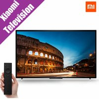 plasma tv - Original Xiaomi mi TV Smart flat screen TV Inch Quad Core Household televisores Support RM FLV MOV AVI MKV TS MP4