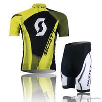 xxxxl size jersey - 2015 HOT SCOTT Team Bike Jersey Cycling Jersey Set Cycling Wear Clothing Bib Shorts Size XS XXXXL