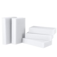 Wholesale 10pcs pack Esponja Magica Para Limpeza Magic Sponge Cleaner Eraser Melamine Cleaner Eraser mm Kitchen Accessories Grey order lt no