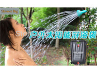 Wholesale Details about Outdoor Camping Hiking Solar Energy Heated Camp Shower Pipe Bag Portable L