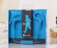 Cheap Bluetooth Sport Earhook Earbuds Best Wireless Neckband Sport Headset