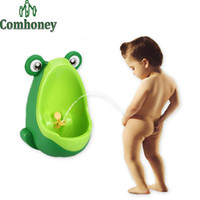 baby potty trainers - Fashion Children Baby Potty Toilet Trainers Urinals Boy Hook Kids Potty Training Portable Toilet Kawaii Windmill years