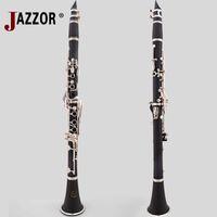 Wholesale New JAZZOR Jzcl E beginner B flat Clarinet key Bb wood musical instrument clarinete klarnet