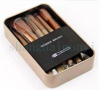 Wholesale New Synthetic Hair Essential kit de pinceis de maquiagen makeup brushes set with Metal boxes