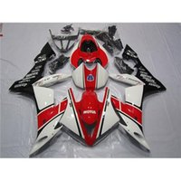 Wholesale New White Red Black Style For Yamaha Motorcycle Bodywork Set MOTUL Motor Fairing Kit ABS Words Pattern YZF R1