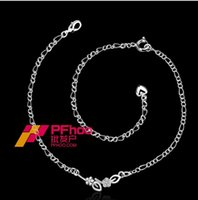 Wholesale Sterling silver jewelry in Europe and America Ms explosion models popular star anklet SPA015