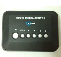 Wholesale Multi media Player TV Video Player Box USB AVI MP5 RMVB RM speaker SD MMC V new