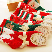 autumn candles - Pair Cozy Warm Soft Women Winter Autumn Home Christmas Festival Gift Socks New