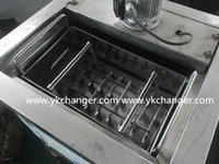Cheap stainless basket ice pop mold ice lolly mould ice cream mould popsicle mold basket 90ml 4*10 40pops commericial use High quality food class