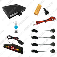backup picture - black Sensor wireless parking car reversing radar system backup aid the picture is clear simple installation quality guaranteed