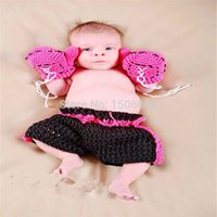Cheap 2015 Top Fashion Solid Fotografia New Arrival Newborn Baby Atrezzo Crochet Clothes Muhammad Two Colors Costume Photography Prop Free Shippin