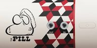 barry mcgee - 2016 Newest Barry Mcgee And Fragment Pills Wireless Speaker stereo audio NFC wireless bluetooth speaker