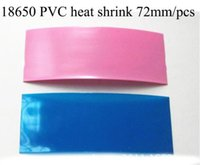 heat shrink - 72mm PVC Heat Shrink insulation Re wrapping sale for imr battery sony vtc4 vtc5 samsung LG he4 us18650 ultrafire batteries