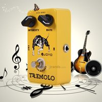 Wholesale JOYO JF Electric Guitar Effect Pedal True Bypass Design Tremolo with Aluminum Alloy Material A Tremolo Guitar Bass Effect