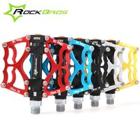 bear body parts - RockBros MTB BMX DH Bike Parts Aluminum Body Axle quot Cr Mo Spindle Cycling Seald Bearing Bike Bicycle Pedal Colors