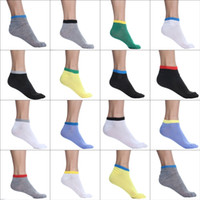 Wholesale 50paris Cotton Skateboard Sports Socks Men Women Boat Socks Outdoor Running Cycling Socks EXQ