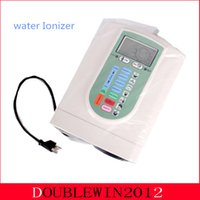 Wholesale Hot sale Alkaline Water Ionizer Water Filter Machine White Color Free Prefilter And Internal Filter By DHL