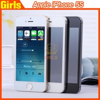 iphone unlocked - Apple Refurbished Iphone S Unlocked phone GB ROM IOS WIFI Cell phone White Black Gold smart phone