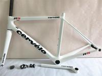 Wholesale New arrivel carbon road frame full carbon fiber bicycle frameset white R5 cycling frame